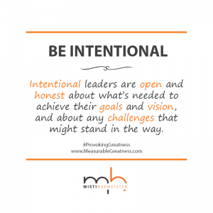 MB Quote - Intentional Leaders
