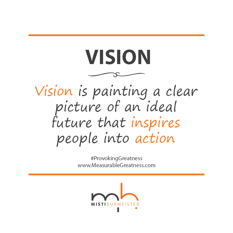 Vision Quotes: Measurable Greatness