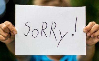 Stop Apologizing. Here's Why