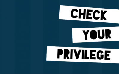 Can You See Your Privileges, Cause I Couldn't Until…